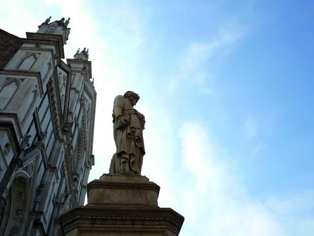 De Santa Croce-kerk op   de gelijknamige piazza.