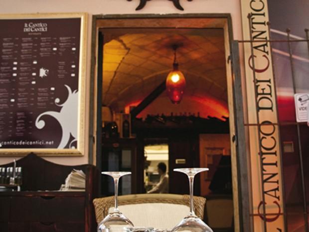 Restaurant in Otranto.